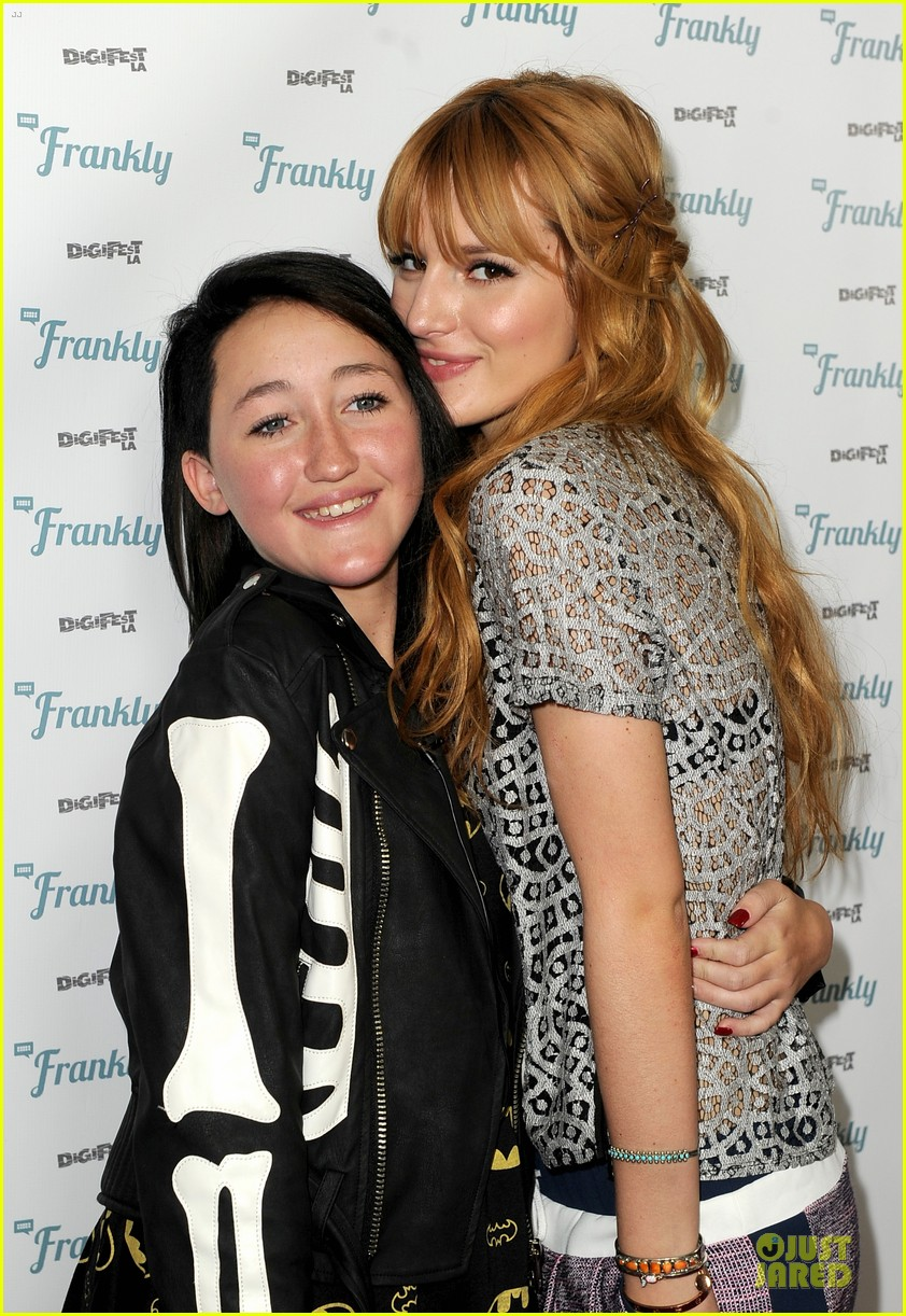 bella thorne digifest la with noah cyrus 123012736