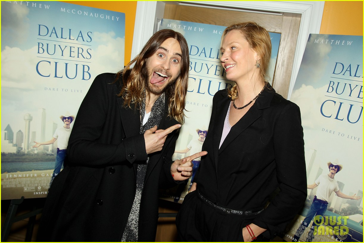 uma thurman jared let dallas buyers club nyc screening 103004813