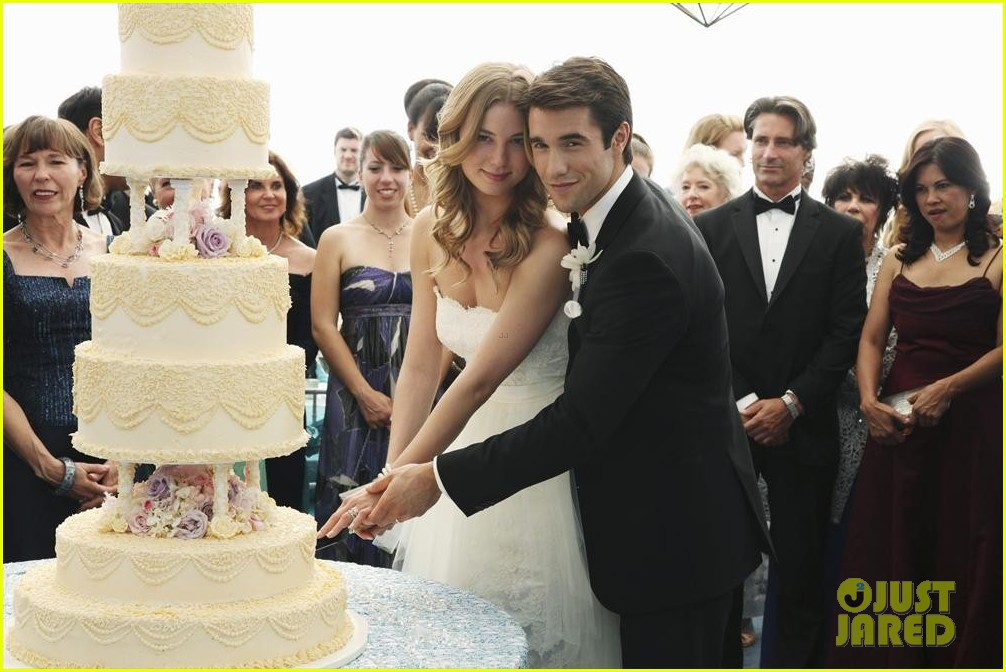 emily vancamp josh bowman revenge wedding pics 093005511