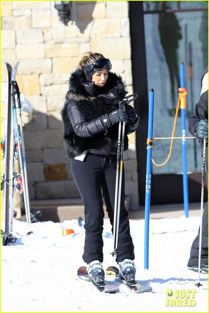 kanye west wears full face mask for skiing with kim kardashian 083019956