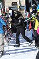 kanye west wears full face mask for skiing with kim kardashian 22