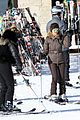 kanye west wears full face mask for skiing with kim kardashian 30