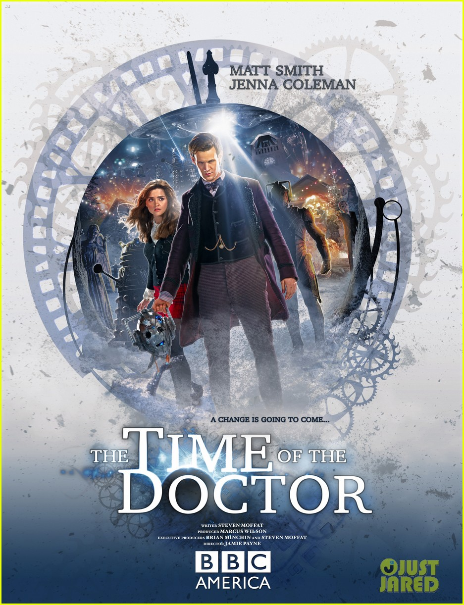 matt smith doctor who christmas special stills posters 013005397
