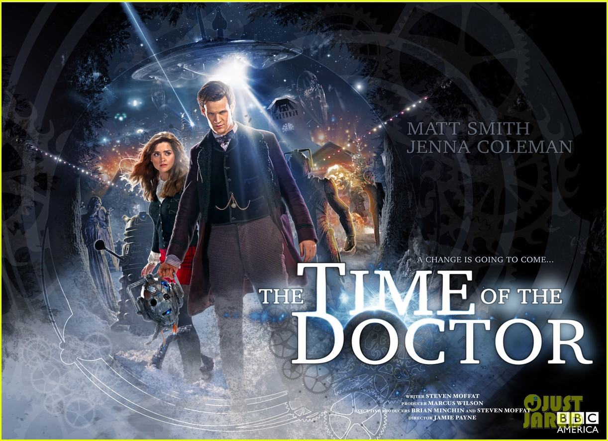 matt smith doctor who christmas special stills posters 053005401