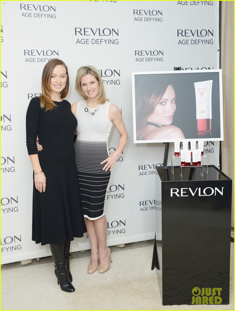 olivia wilde revlon event date night with jason sudeikis 103009769