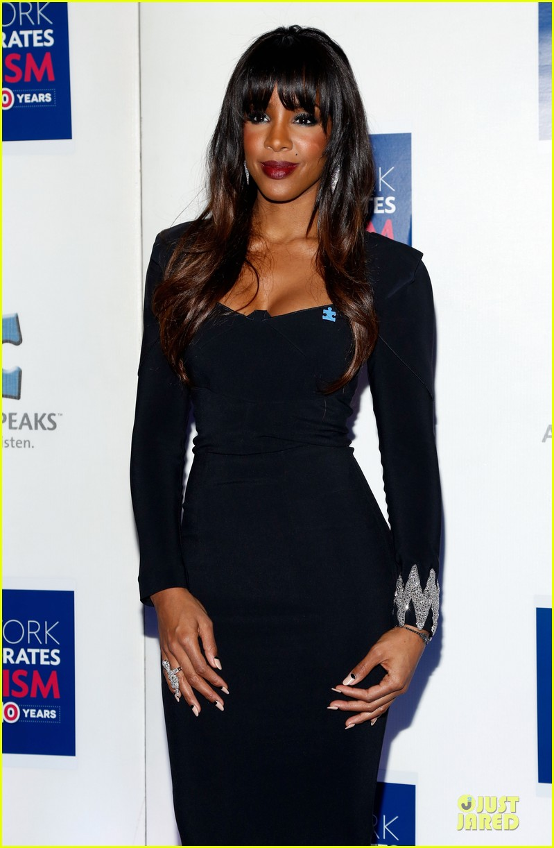 allison williams kelly rowland winter ball for autism 023004007