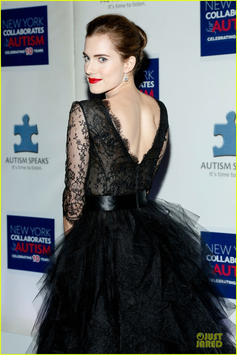 allison williams kelly rowland winter ball for autism 043004009