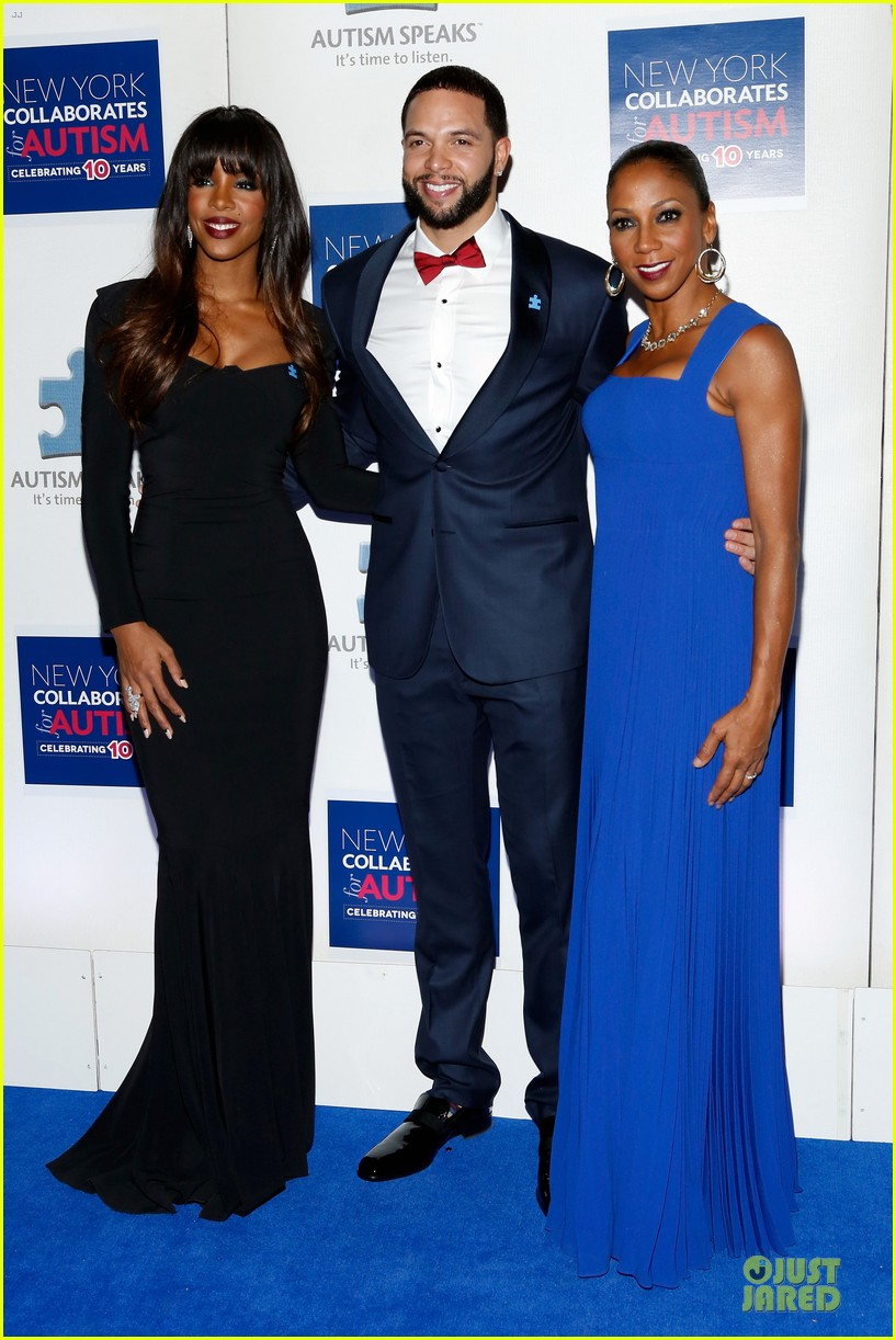 allison williams kelly rowland winter ball for autism 143004019