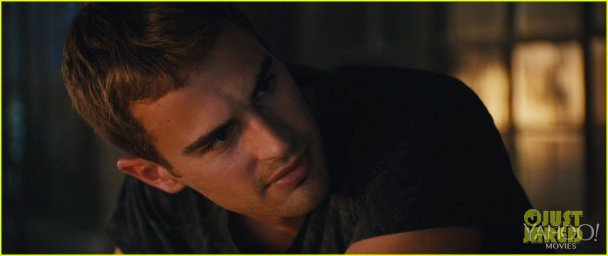 shailene woodley theo james kiss in new divergent clip 073014613