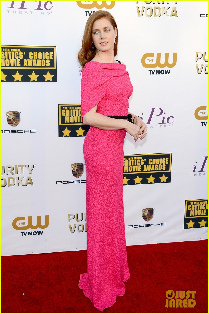 amy adams critics choice awards 2014 red carpet 013032890
