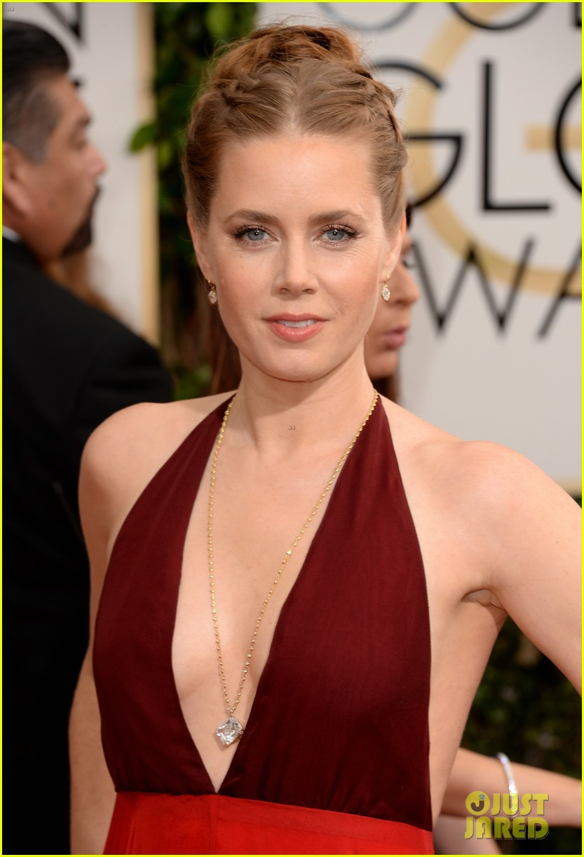 amy adams golden globes 2014 red carpet 04