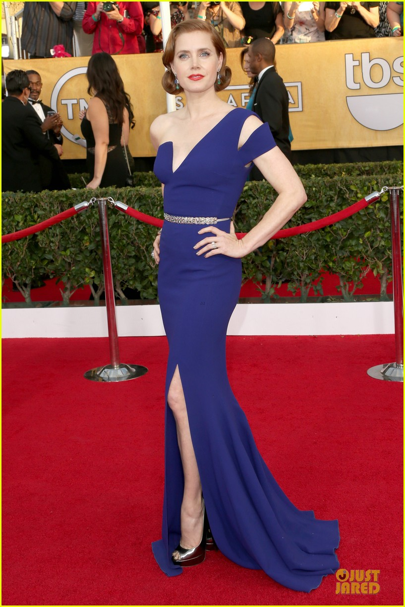 amy adams sag awards 2014 red carpet 023034655