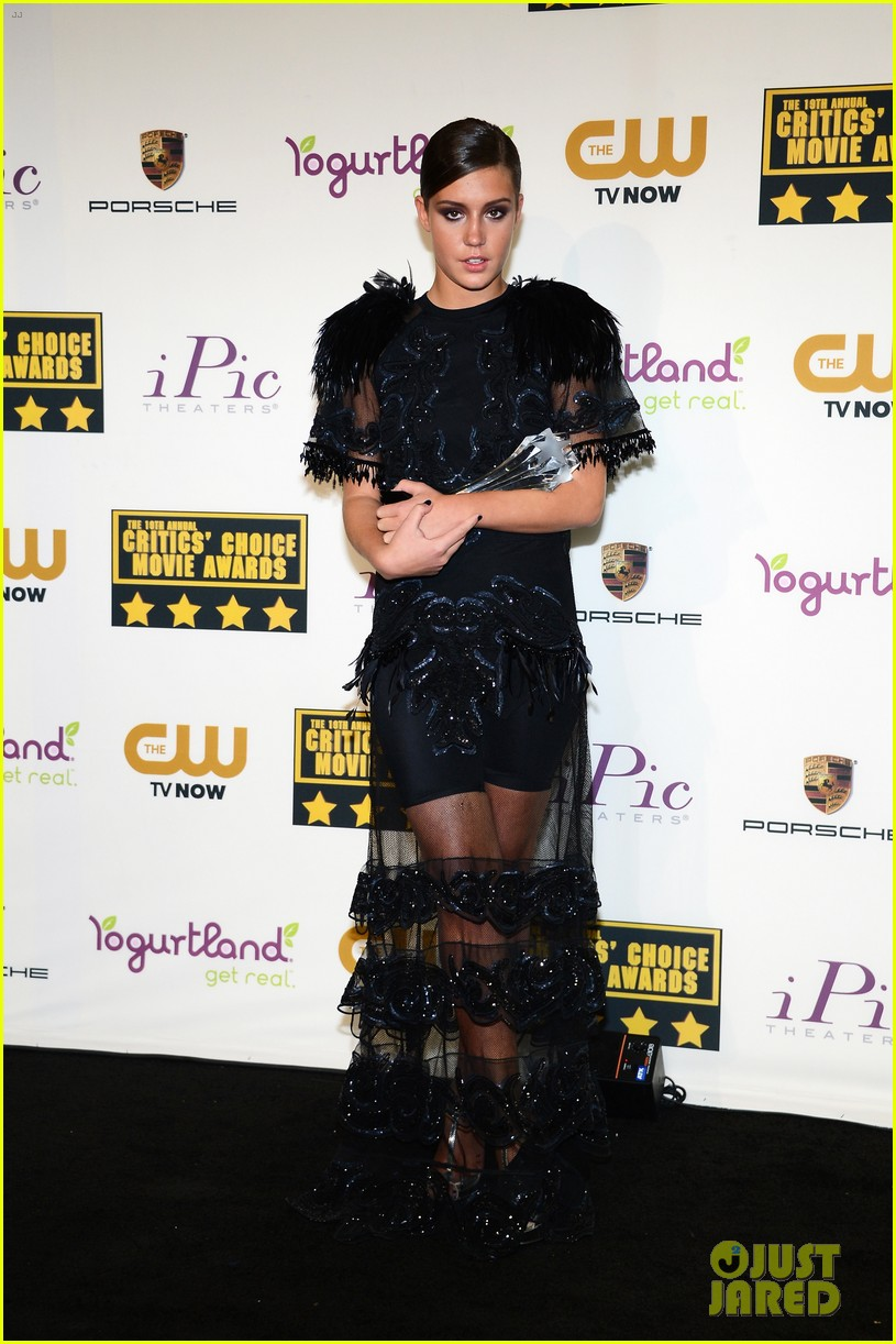 adele exarchopoulos critics choice movie awards 2014 013033078
