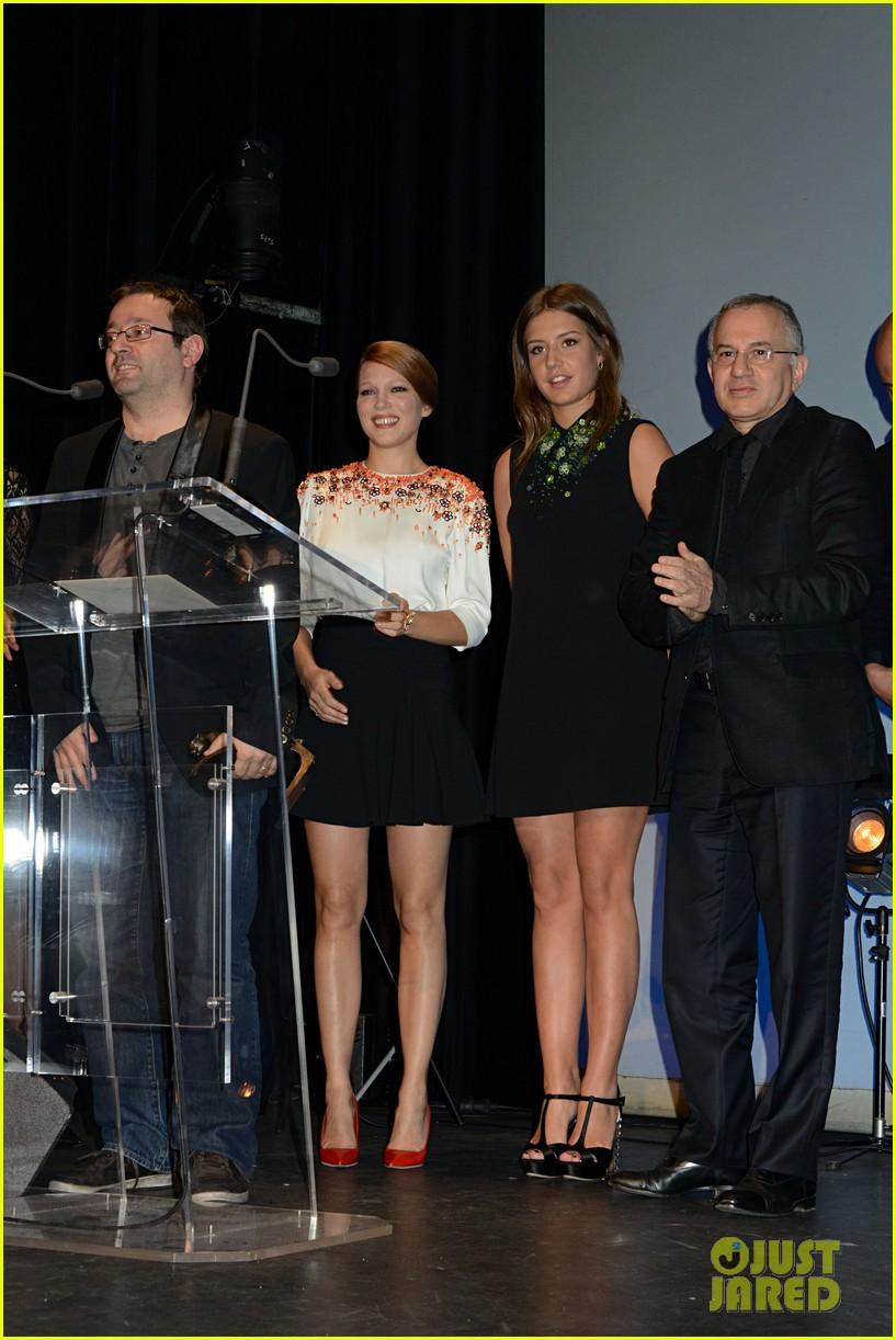 adele exarchopoulos lea seydoux les lumieres awards 023037081