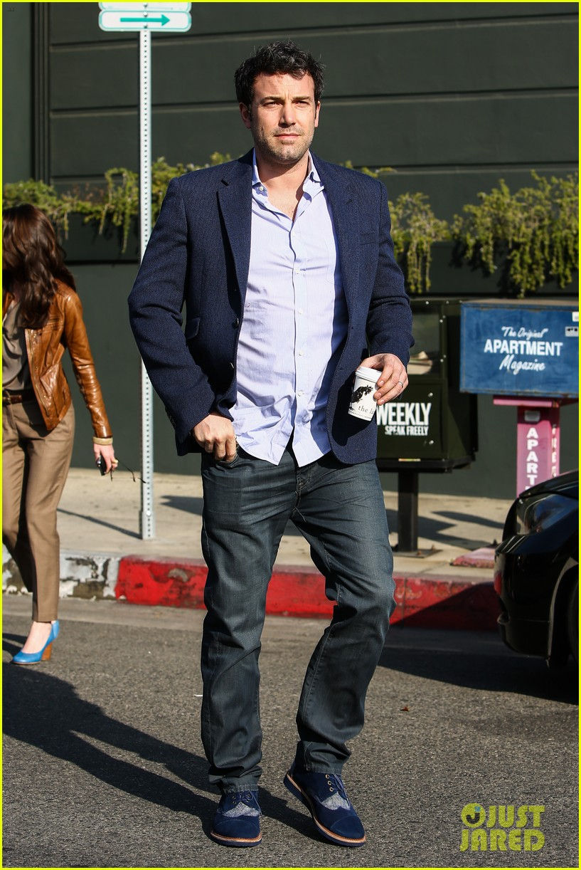 ben affleck steps out after joking about his big dick 173038983