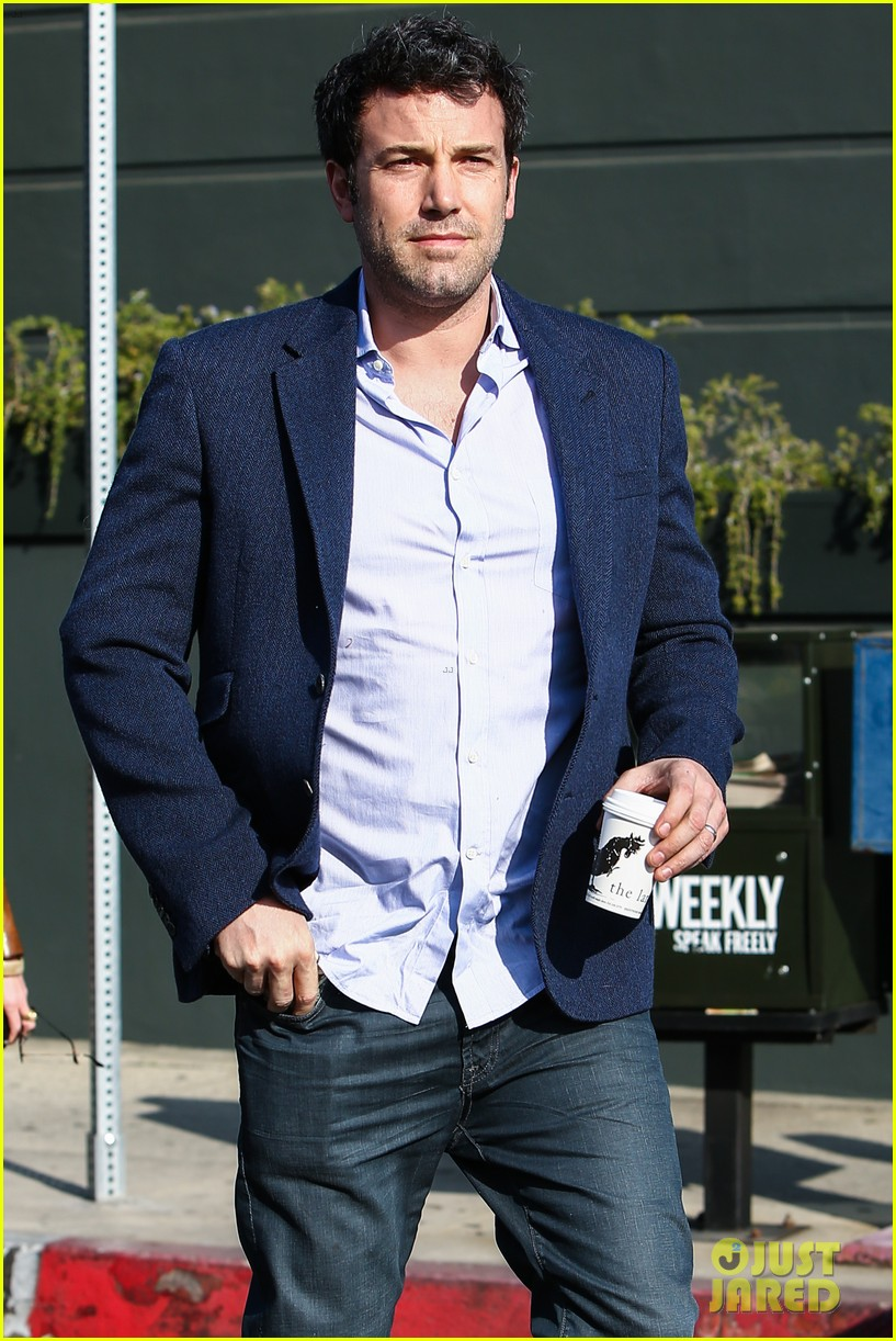 ben affleck steps out after joking about his big dick 183038984