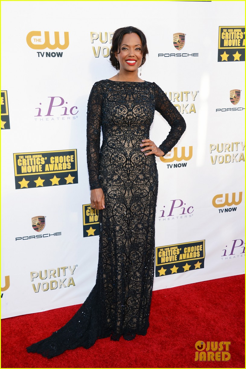 aisha tyler critics choice movie awards 2014 red carpet 043032858