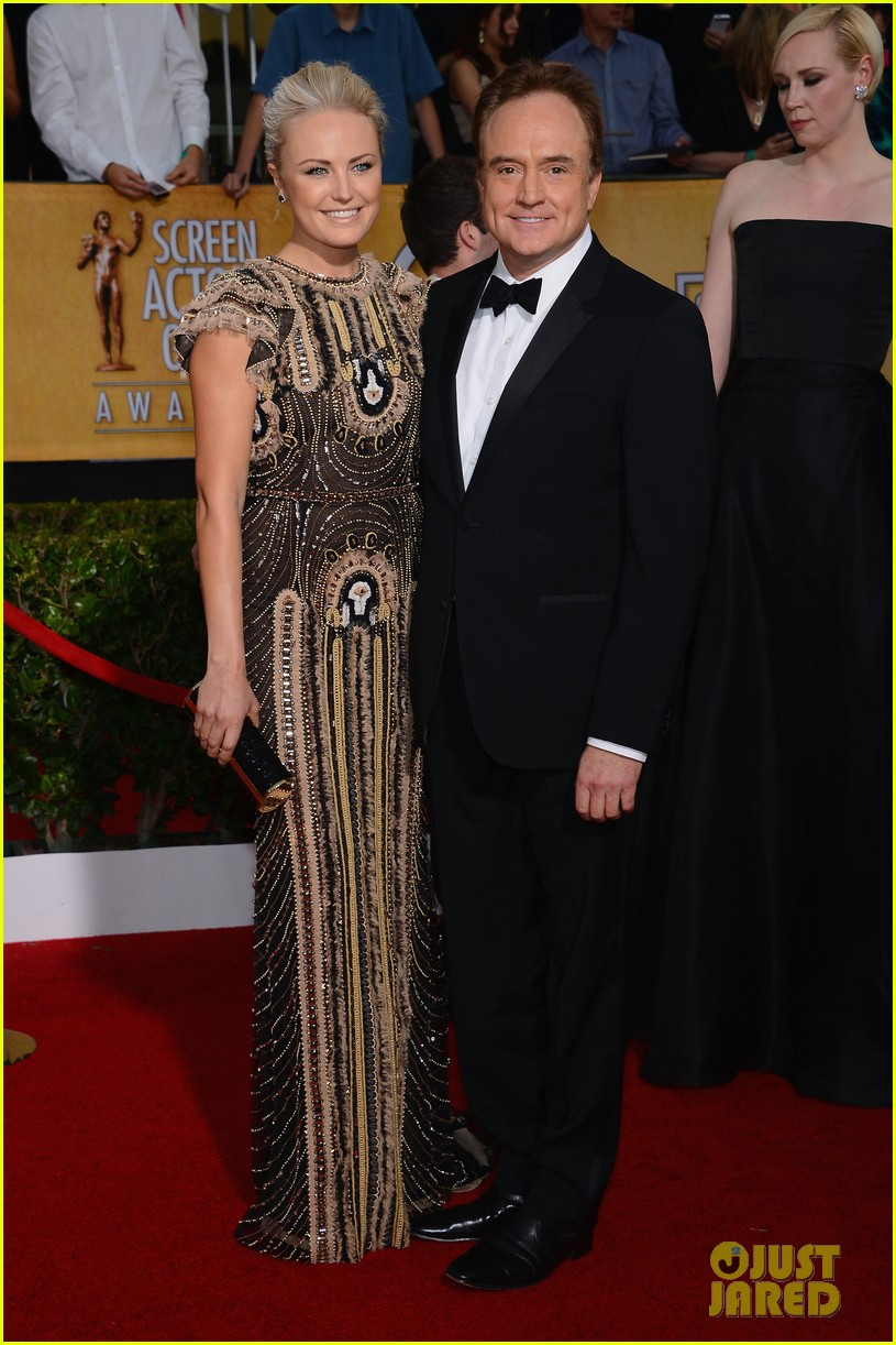 malin akerman sag awards 2014 red carpet with bradley whitford 033034796