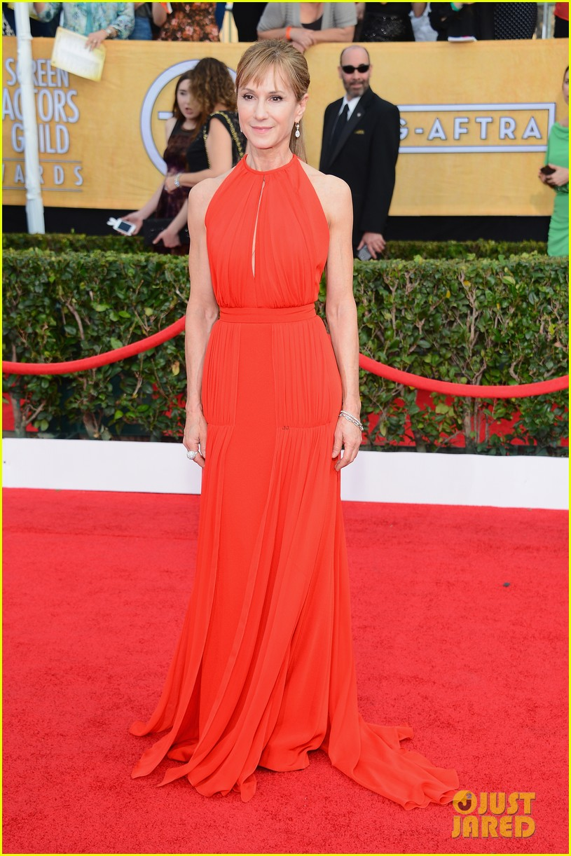 sasha alexander holly hunter sag awards 2014 red carpet 083035025