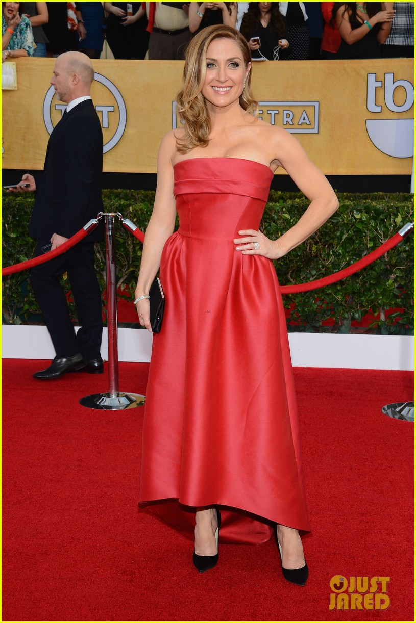 sasha alexander holly hunter sag awards 2014 red carpet 09