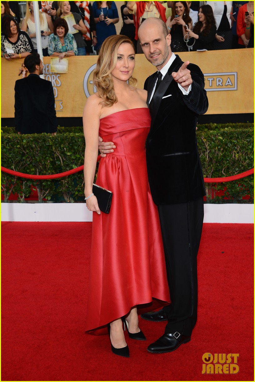 sasha alexander holly hunter sag awards 2014 red carpet 13