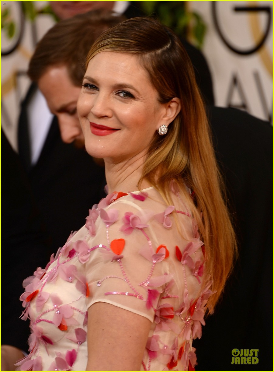 drew barrymore will kopelman golden globes 2014 023029362
