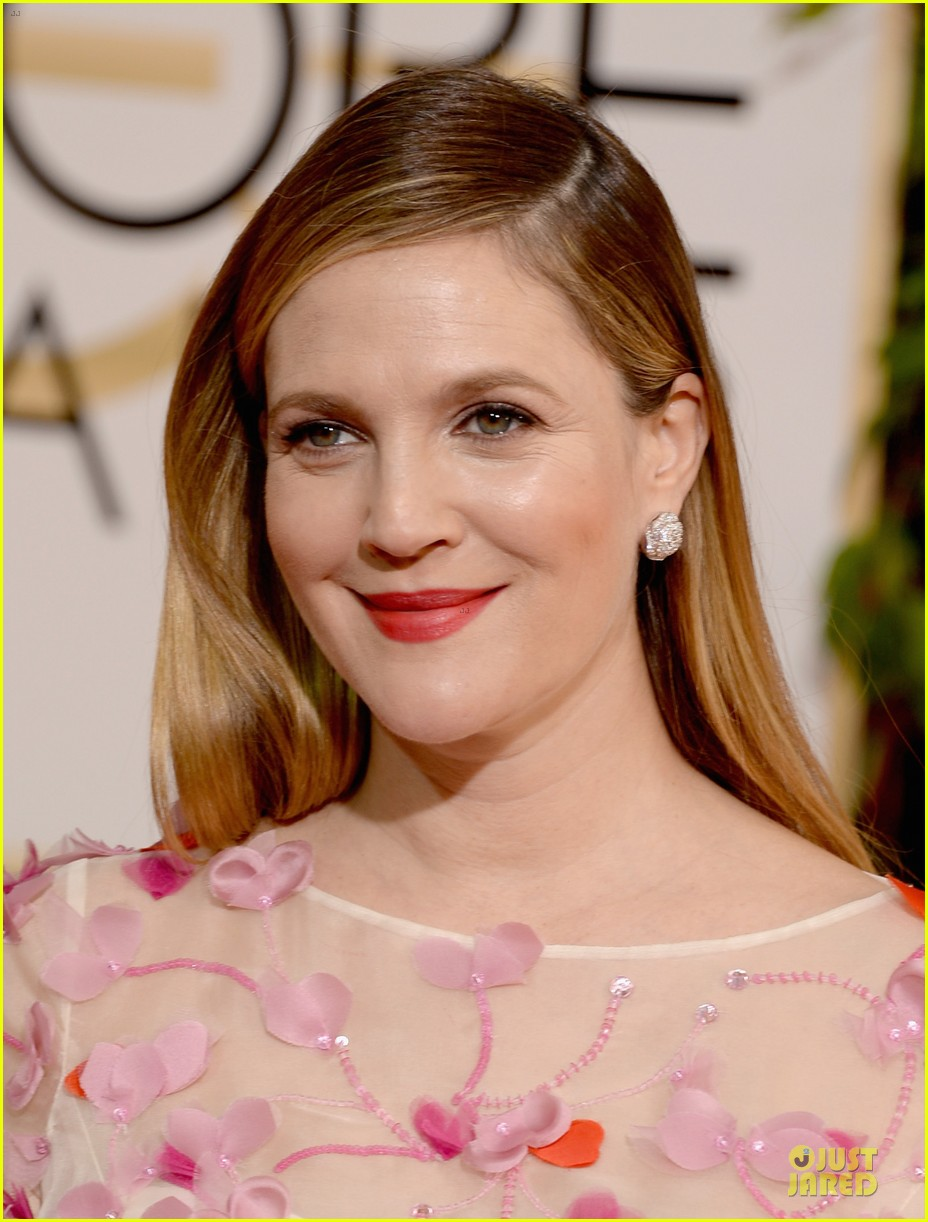 drew barrymore will kopelman golden globes 2014 073029367