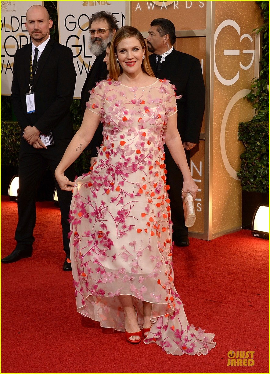 drew barrymore will kopelman golden globes 2014 133029373