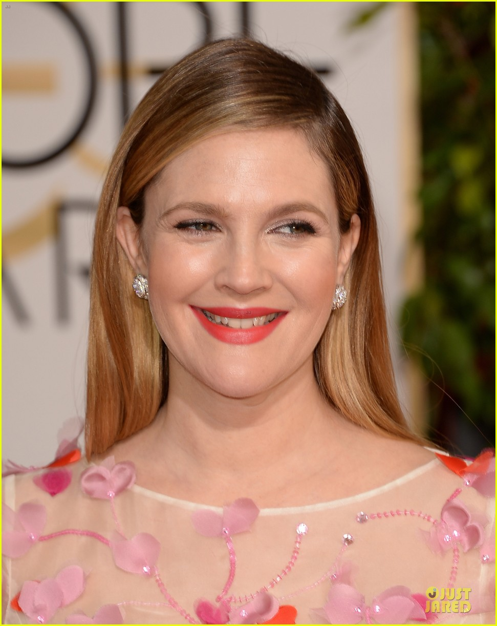 drew barrymore will kopelman golden globes 2014 143029374