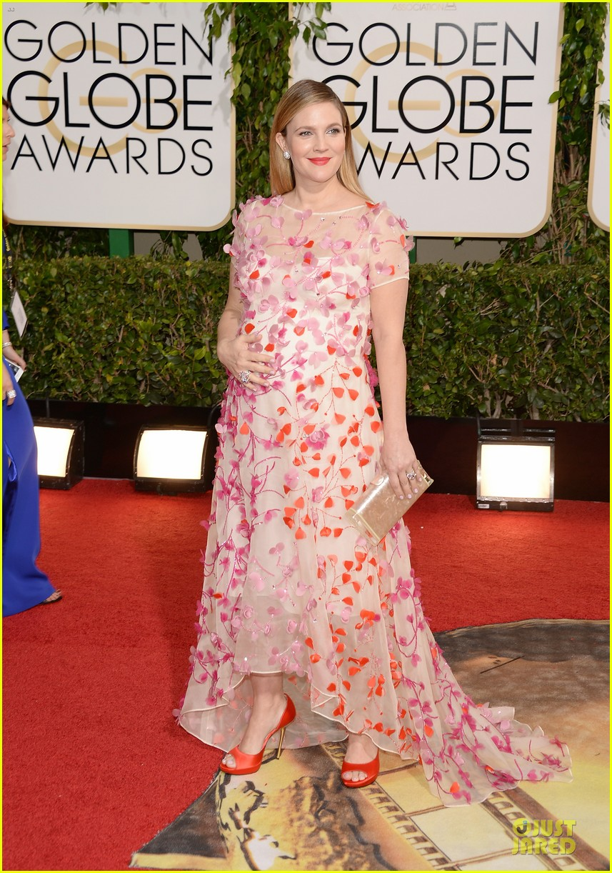 drew barrymore will kopelman golden globes 2014 153029375