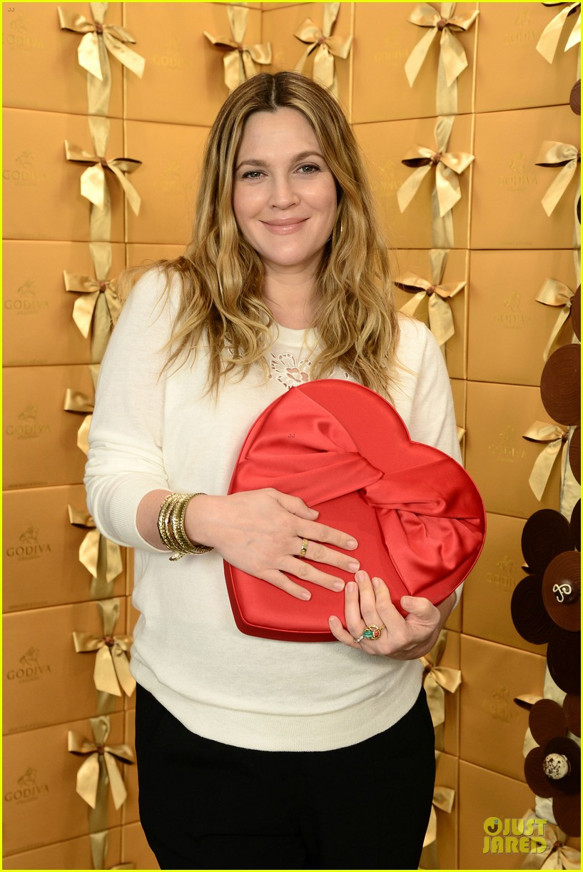 drew barrymore partners with godiva to launch new book 023044229