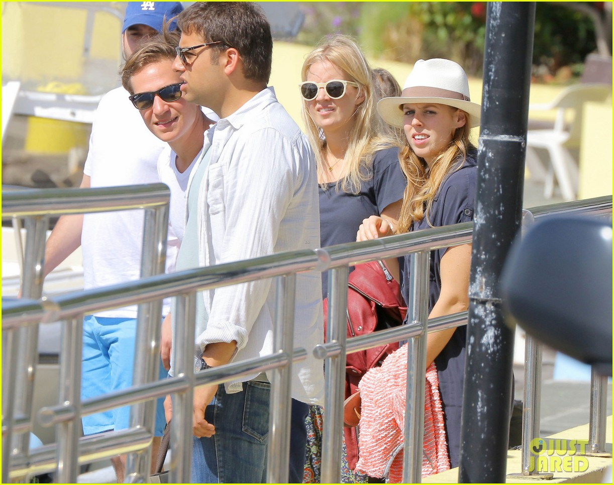 princess beatrice shirtless boyfriend dave clark ring in new year in st barts 033021454