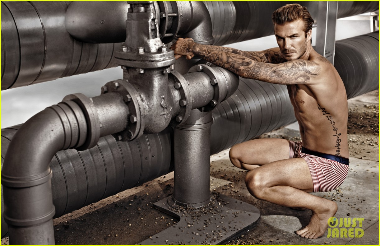 david beckham shirtless in hm super bowl commercial clip 053038820