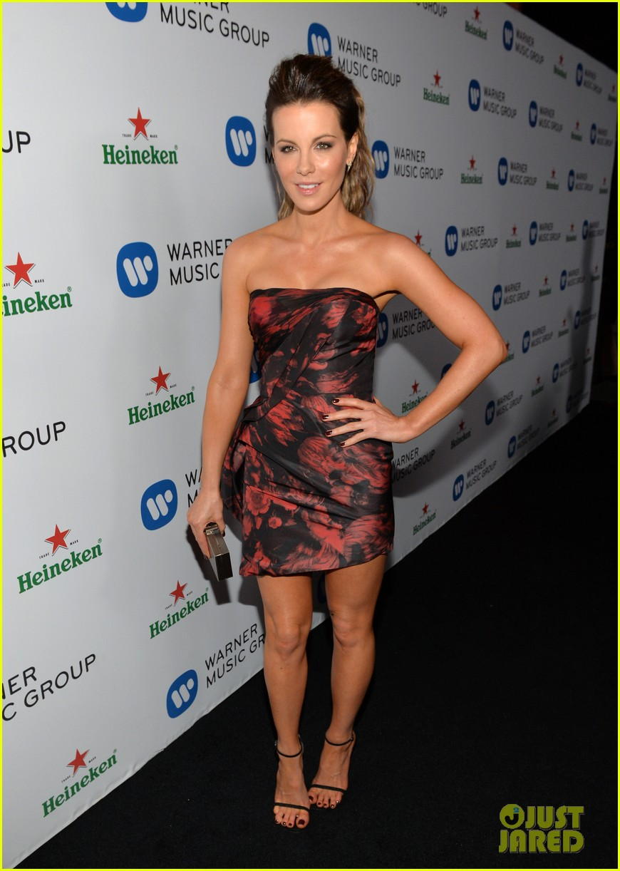 kate beckinsale warner music groups grammy party 053041754