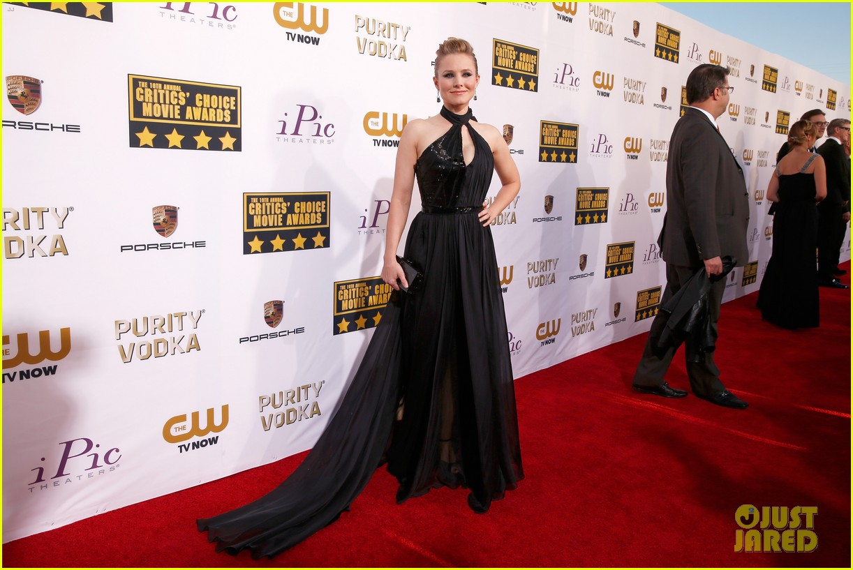 kristen bell critics choice movie awards 2014 red carpet 033032882