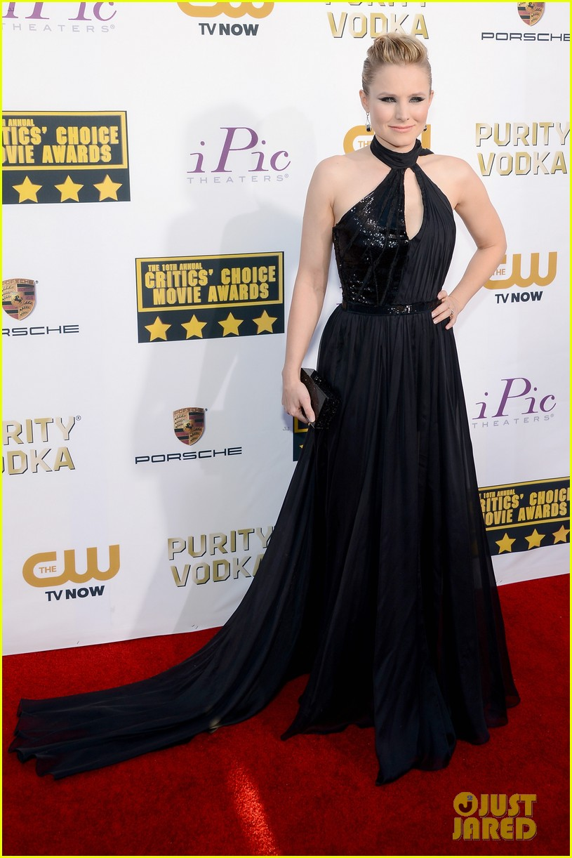 kristen bell critics choice movie awards 2014 red carpet 053032884