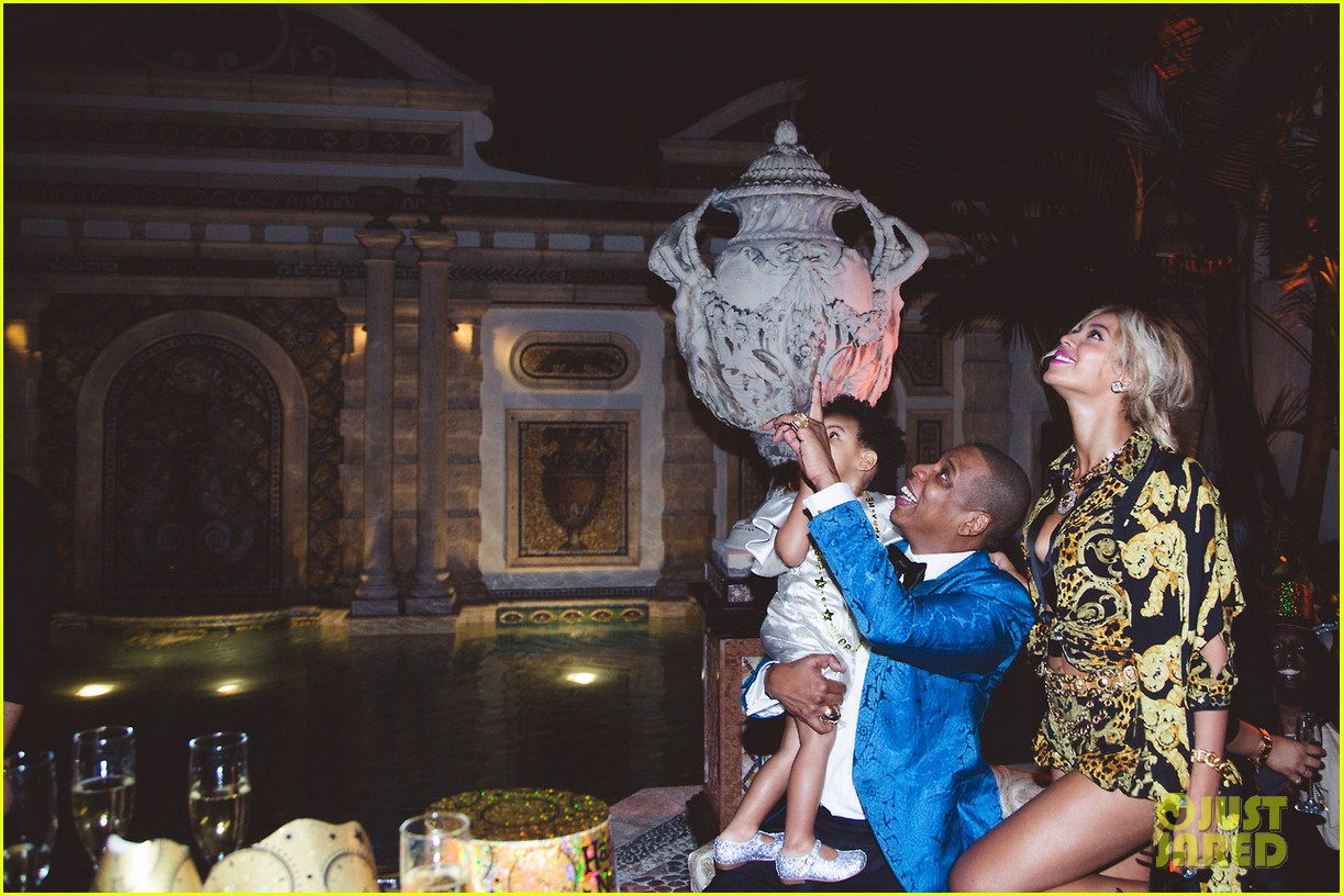 beyonce shares pictures from blue ivy carters birthday party 123031999