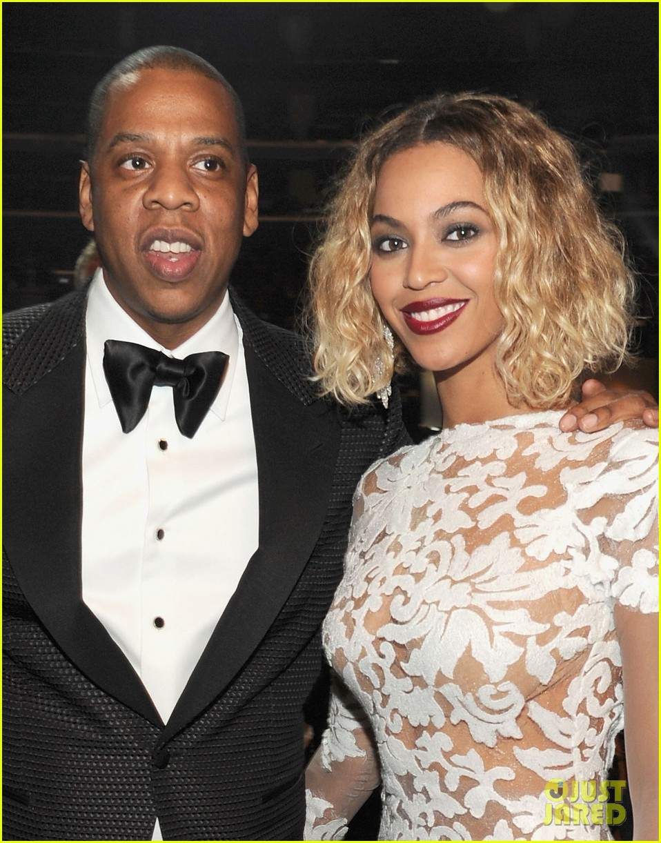 beyonce wears sexy sheer white dress at grammys 2014 02