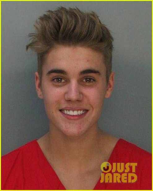 justin biebers mugshot released after dui arrest 013038503