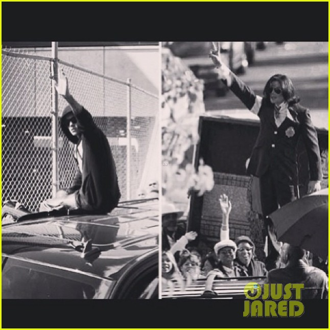 justin bieber breaks silence after arrest posts side by side of him michael jackson 013039443