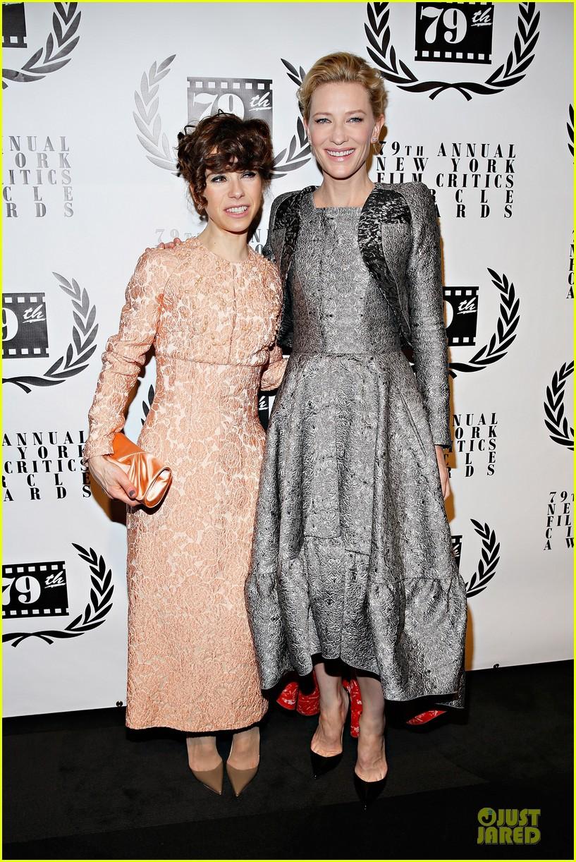 cate blanchett new york film critics circle awards with sally hawkins 033024150