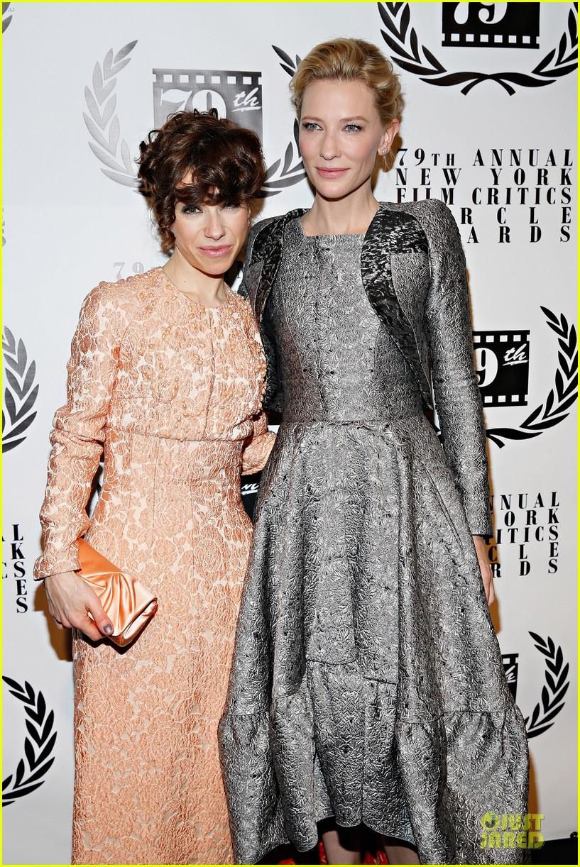 cate blanchett new york film critics circle awards with sally hawkins 043024151