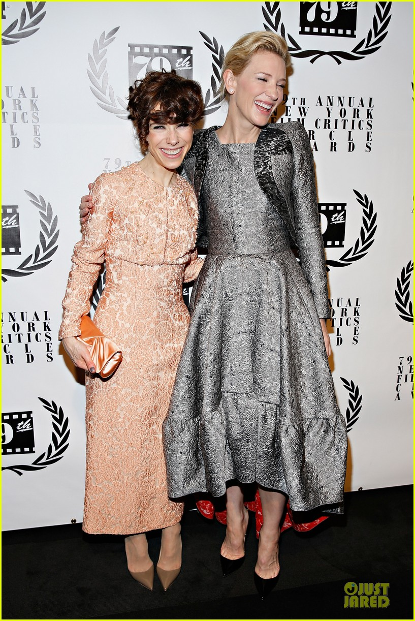 cate blanchett new york film critics circle awards with sally hawkins 083024155