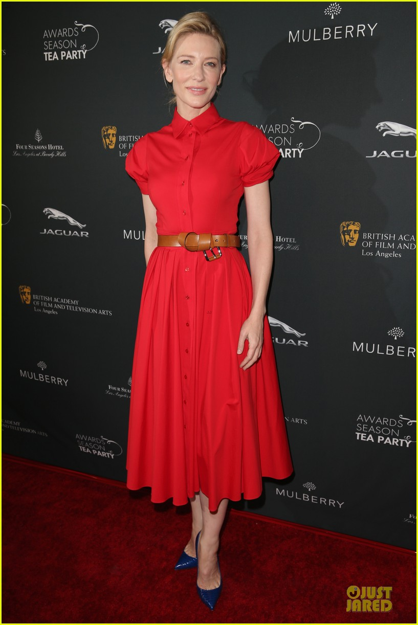 cate blanchett brit marling bafta tea party 2014 133028088