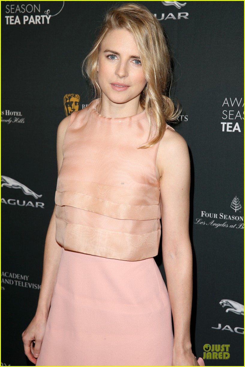 cate blanchett brit marling bafta tea party 2014 153028090