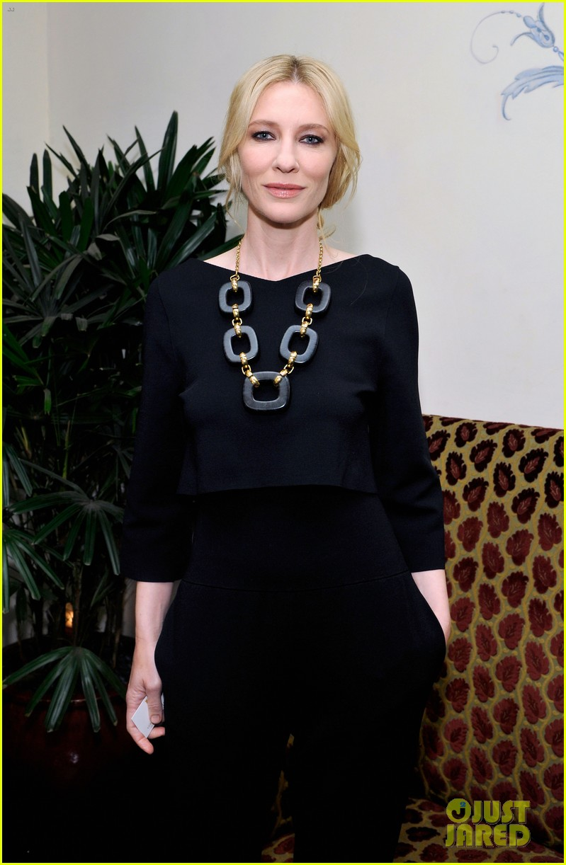 cate blanchett robin wright pre golden globes party 2014 133026901