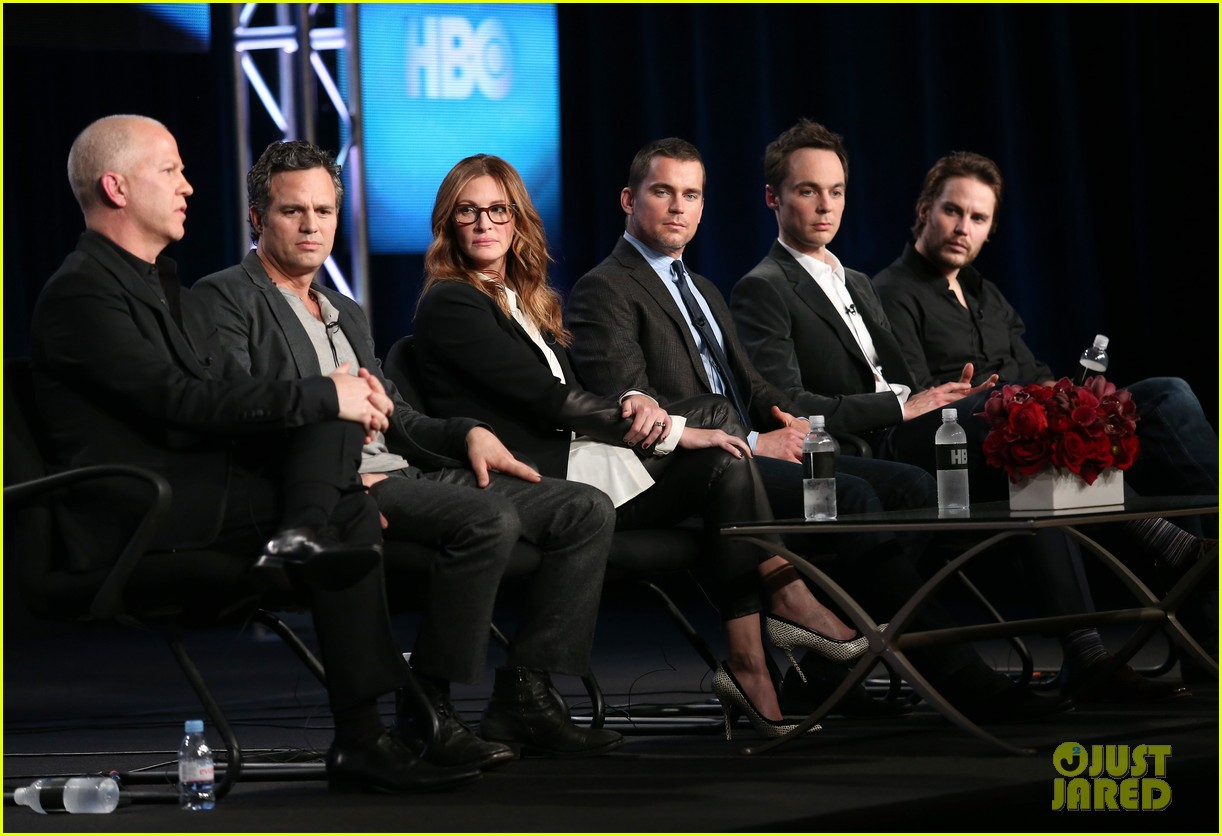 matt bomer debuts new buzz cut at normal heart tca panel 073026545