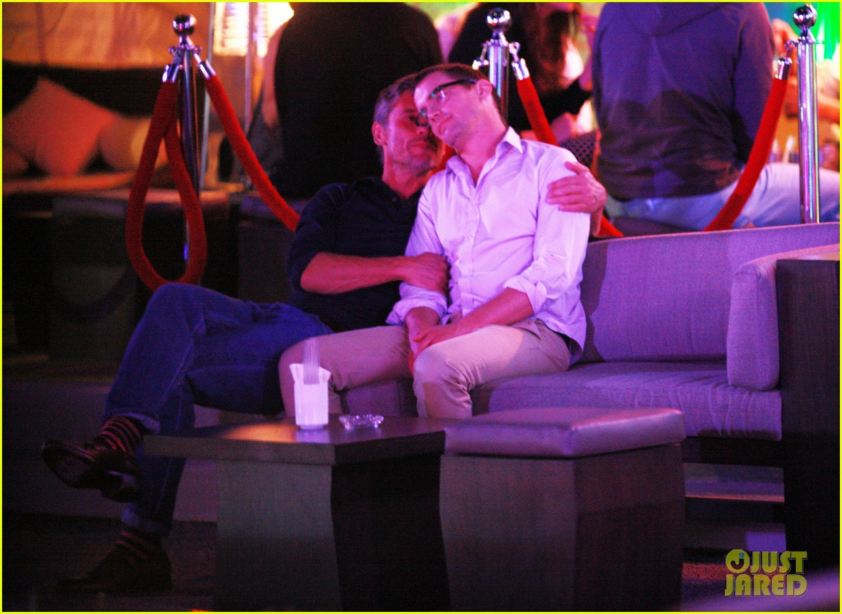 matt bomer cuddles simon halls at birthday celebration in cabo 123036378