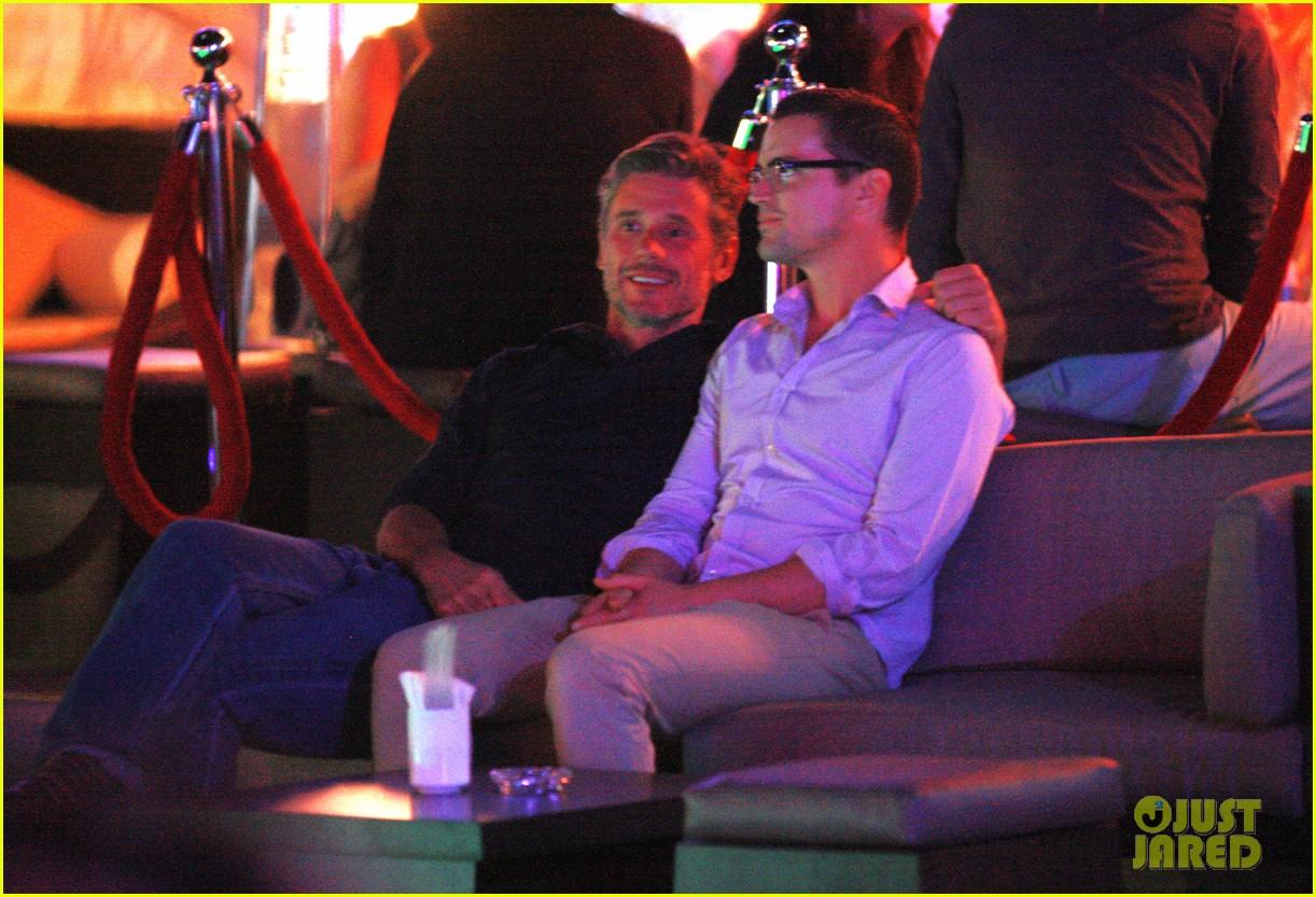 Matt Bomer Cuddles With Simon Halls At Cabo Birthday