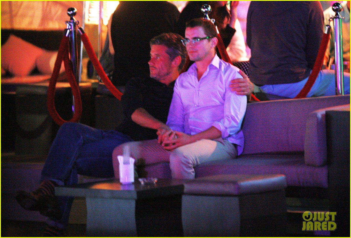 matt bomer cuddles simon halls at birthday celebration in cabo 18